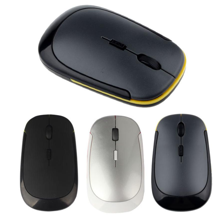Best Price 2.4GHz 1600dpi Wireless Cordless Optical Mouse USB 2.0 for PC Laptop