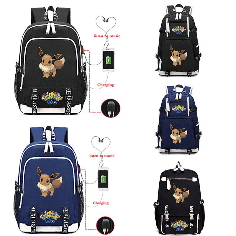 Pokemon Travel Backpacks USB Charging Backpack Multifunction Bagpack For Girls Boys Large Capacity Laptop Backpack Bags MochilasPokemon Travel Backpacks USB Charging Backpack Multifunction Bagpack For Girls Boys Large Capacity Laptop Backpack Bags Mochilas