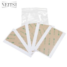 Neitsi 4cm*0.9cm 3M Double Sided Adhesive Tape For Skin Weft Hair Extensions Super Adhesives