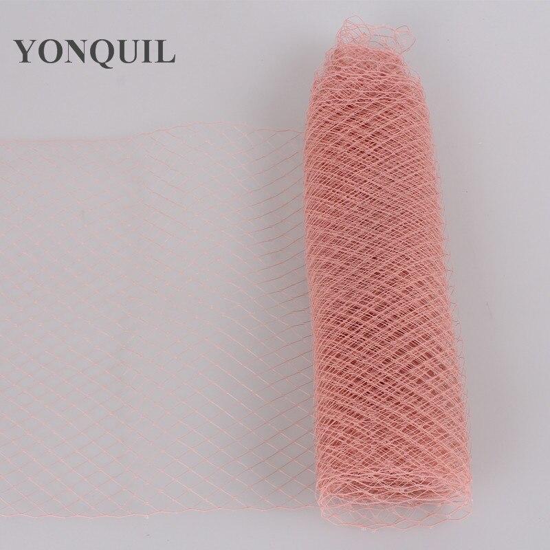 25 см клетка для птиц вуали для вуалеток свадебный аксессуар для волос шляпка для миллинери DIY вечерние головные уборы несколько цветов Новое поступление