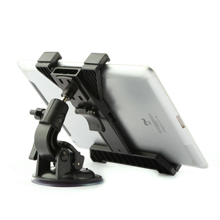 где купить Universal 7 8 9 10 inch For Samsung Asus Xiaomi iPad 2 3 4 Air 1 2 Pro 9.7 Tablet Car Holder Desktop Windshield Car Mount Holder дешево