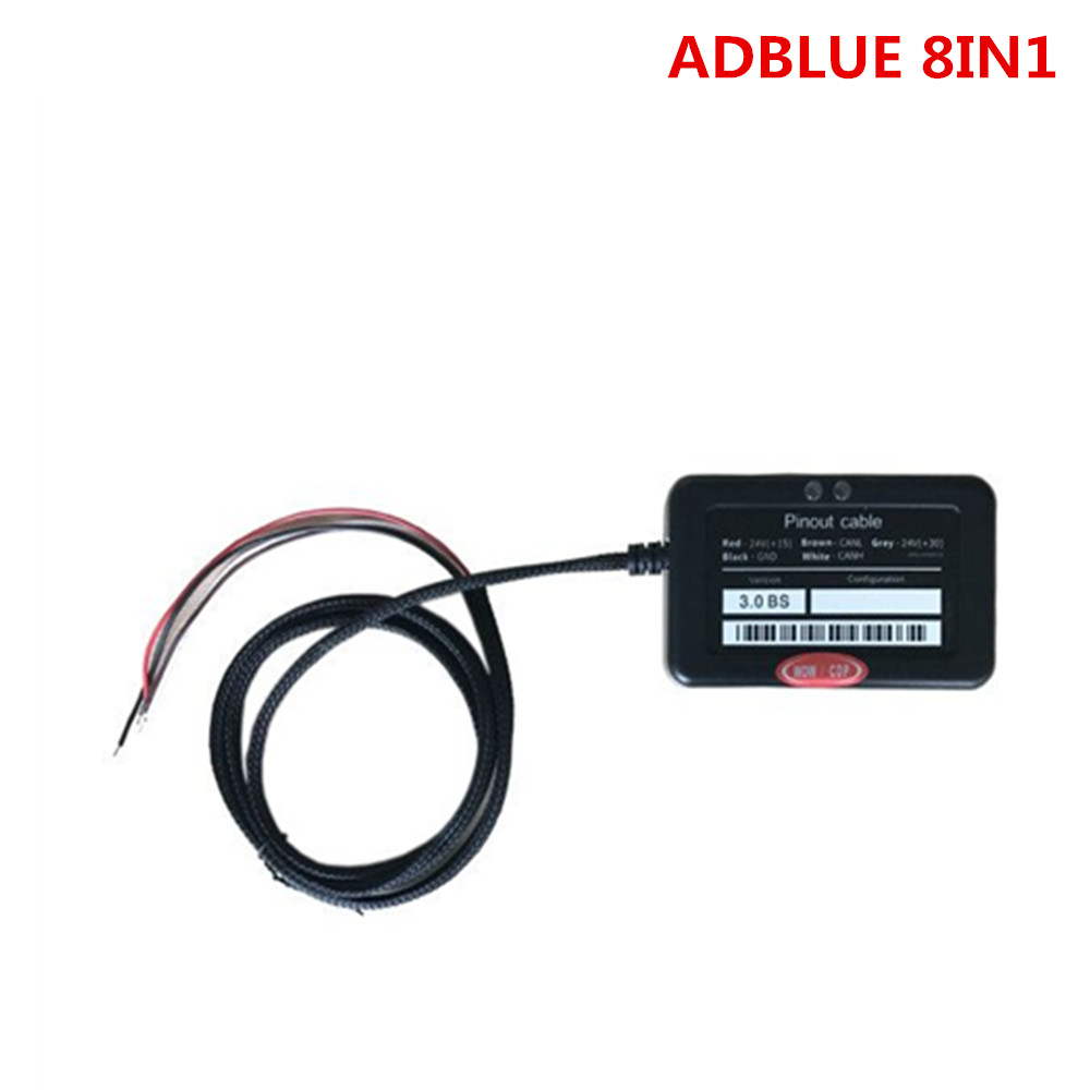 2 kinds Adblue Emulation 8in1 With NOx Sensor Adblue Emulator 8 in 1 Adblue 8in1 For 8 Type Trucks