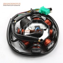 8 Coil Stator Magneto for GY6 125cc 150cc 152QMI 157QMJ Scooter ATV Moped Alternator Chinese