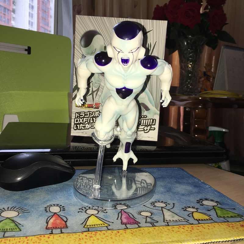 18 CENTÍMETROS Freeza Dragon Ball Z Figura Super Estrelas Mestre Pedaço Akira Toriyama A Figura de Ação PVC Modelo de Brinquedo figura