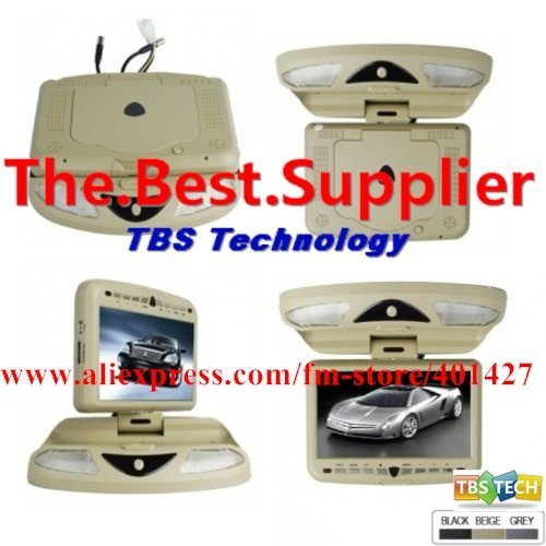 Freeshipping HOT!Roof Mount Car DVD Player with 9.0 Inch LCD Screen wholesale and resale