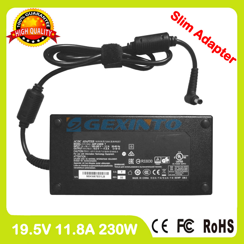ac power adapter 19.5V 11.8A 230W 0A001-00390900 laptop charger for Asus FX502VS G502VS G502VSK Strix GL502VS GL502VSK asus rog gl502vs black gl502vs gz415t