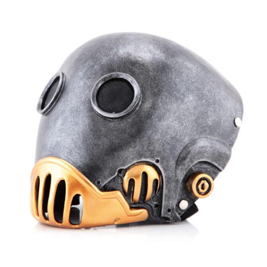 Hellboy Mask Halloween Clockwork Hellboy Kroenen Masks Horror Movie Prop Masquerade Cosplay Resin Full Face Helmet Horror Adult