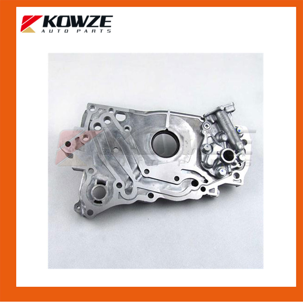 Front Cylinder Block Case Assy Oil Pump Lubrication for PAJERO MONTERO II 2nd L200 L300 GALANT HATCHBACK MD327450 1211A160 power steering oil pump assy for mitsubishi pajero montero shogun ii 3 0 3 5 l v6 6g72 6g74 mr267662