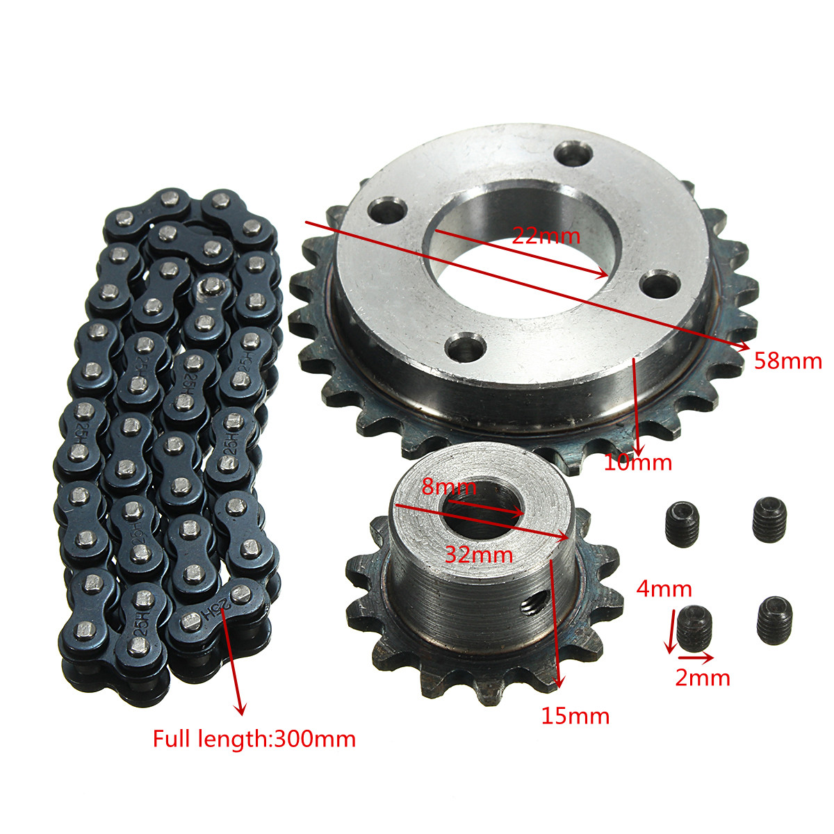 Image 5 - DIY Sprocket Chain Wheel for Electric Longboard 8044 Skateboard Repalcement Part Skateboard Accessories-in Skate Board from Sports & Entertainment