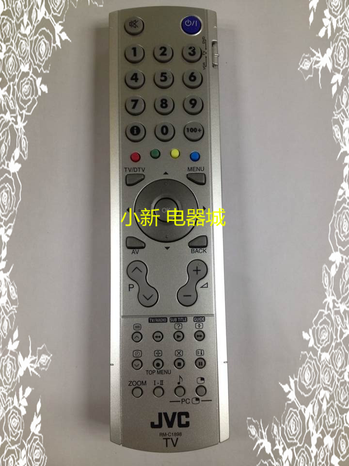 New Original For JVC RM-C1898 LCD TV Remote Control chunghop rm l7 multifunctional learning remote control silver