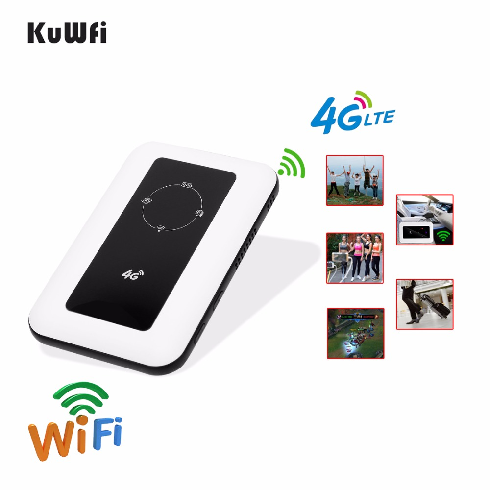 Image 5 - Unlocked 4G Wifi Router 100Mbps Car LTE Mobile Wifi Hotspot Wireless Broadband Mifi Outdoot Wi Fi Router With Sim Card Solt-in 3G/4G Routers from Computer & Office