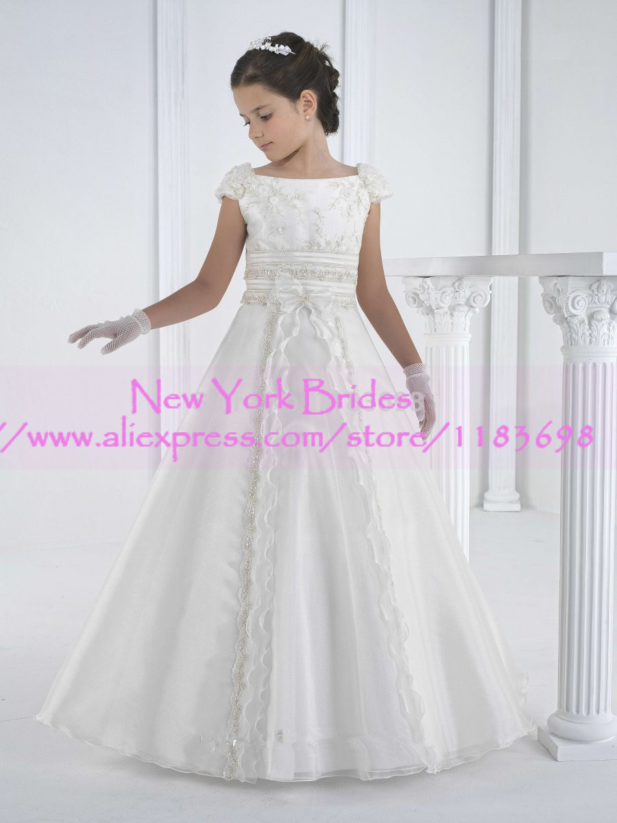 2017 vestido de daminha   flower     girl     dresses   vestidos infantis first communion   dresses   for   girls     dresses   for   girls   10 12
