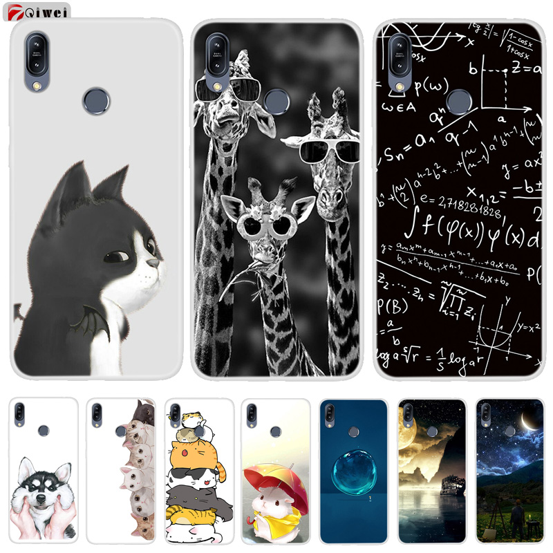 Soft TPU Coque For Asus Zenfone Max M2 Case Print Phone Back Cover For Asus Zenfone Max M2 ZB633KL Case For Asus ZB633KL Cases