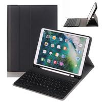 Kemile For iPad 6th 9.7 2018 Generation Case Russian Bluetooth Keyboard W Pencil Holder Smart Stand Cover For iPad 9.7 2017 Case