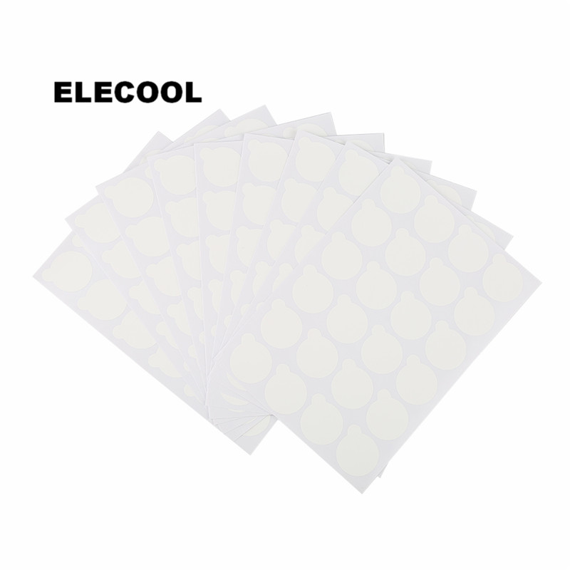 ELECOOL 10Pcs Disposable Eyelash Glue Holder Pallet Paper Ey