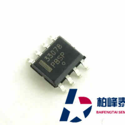 MC33078DR2G silkscreen: 33078 SOP-8 op amp ON imported genuine can be shot directly