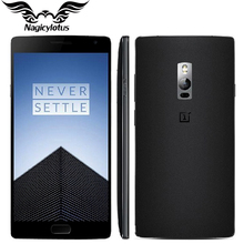 Original OnePlus Two 2 Mobile Phone 5.5″ 4GB RAM 64GB ROM 4G LTE Snapdragon 810 Octa Core Fingerprint ID 1920*1080P 13MP Camera