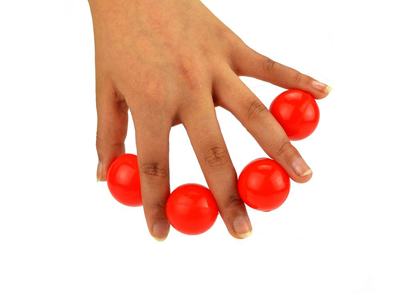 One To Four Balls Rubber For Beginners Or Kids Small Size Magic Tricks Magic Props