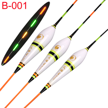 Fishing Float LED Electric Light + Battery Deep Water Luminous Tackle Bobber Gear With electrons