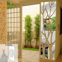 DIY Splice Spiegel Muurstickers Huis Decoratie Adesivos Parede Acryl Gespiegeld Decoratieve Sticker Pegatinas de vergelijking