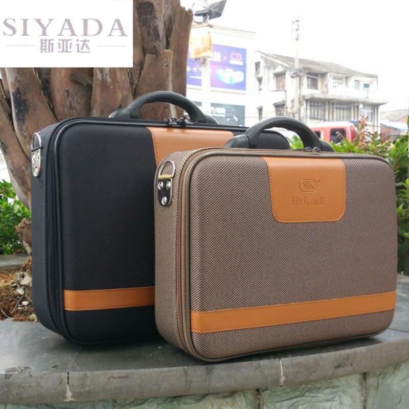Sac ordinateur d'affaires Document mallette boîte à mot de passe boîte à outils petite valise homme valise sac 14 pouces 16 pouces
