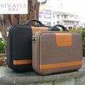 Zakelijke Computer Tas Document Aktetas Vergeten Doos Gereedschapskist Kleine Koffer mannen Koffer Tas 14 inch 16 inch