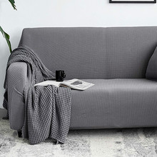 Universal All-inclusive Sofa Cover Corn Kernels Stretch Full Couch Covers  Leather Protect L Shape Furniture Recliner Cover Set universal full fit sofa cover warm plush stretch elastic couch covers l shape furniture recliner covers set leather protection