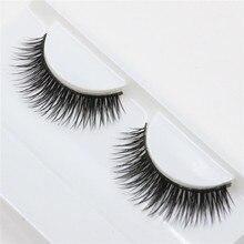 1 pair thick false eyelashes naturally slender fashion of beauty Eyelash