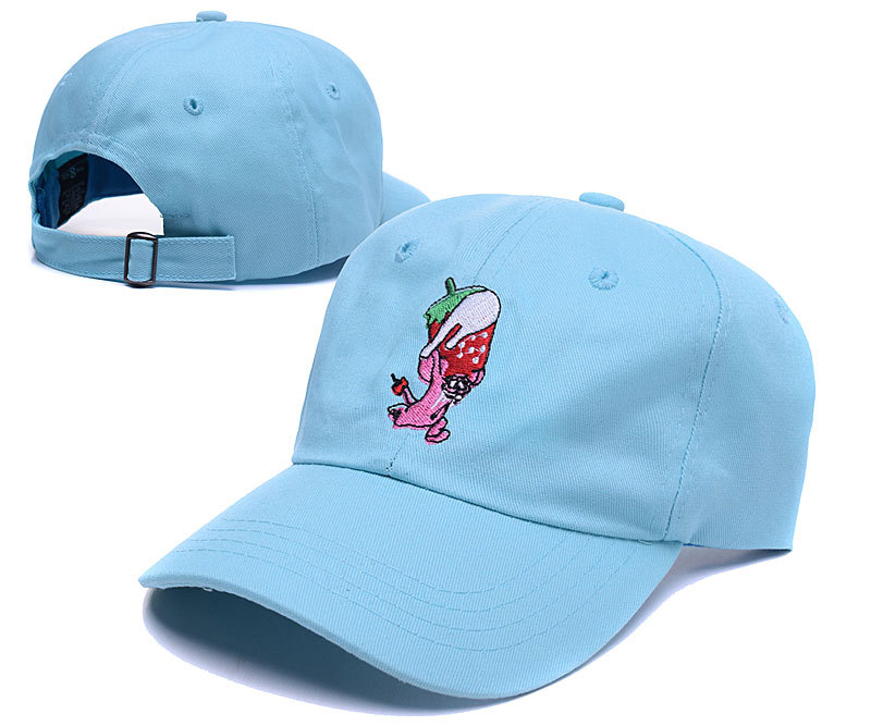 c36ddfe7778 Cute fresh fruit embrodery hat banana cherry egg funny 6 panel baseball cap  chapeau snapback