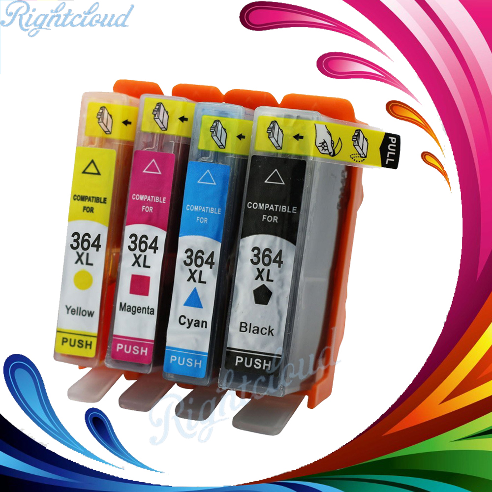 2017 hot 4pack 364xl ink cartridge replacement for hp 364. Black Bedroom Furniture Sets. Home Design Ideas