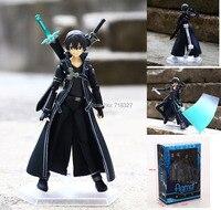 Sword Art Online kirigaya kazuto 174 Yuuki Asuna 178 PVC Action Figure Koleksiyon Model Oyuncak 15 CM Ücretsiz kargo