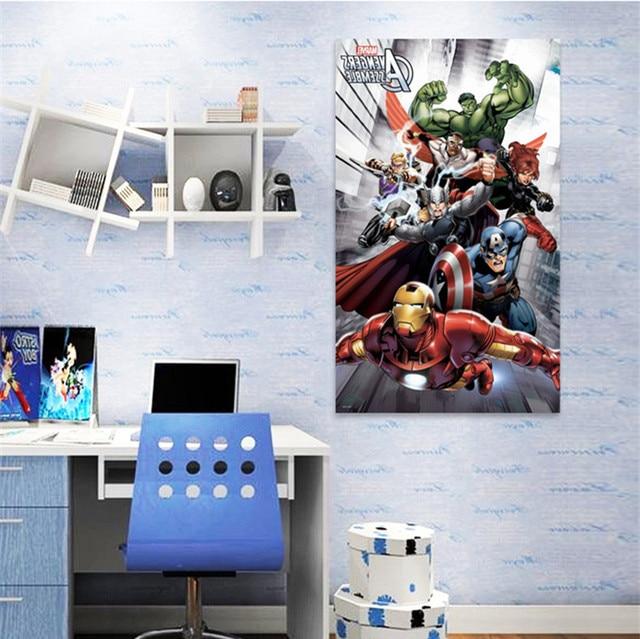 Top 14 Differentes 60 100 Cm 3d Marvel Avengers Assembler Fans Decal