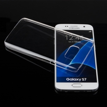 Super Slim Hard PC Clear Transparent Back Cover For Samsung GalaxyS7 / S7 Edge G9300 G9350