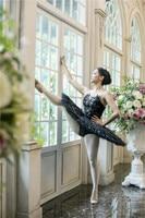 Профессиональные Балетные костюмы профессиональный русский пачка китри Пахита или Кармен испанский балетная пачка Черный лебедь сценичес