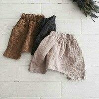 Korean Baby Boy Girl Pants Fashion Clothings Harem Pants Linen Clothes 80 90 100 110 120