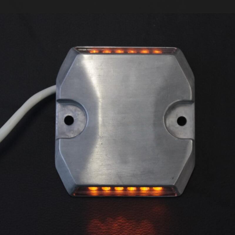 DC24V New Arrival Hot Selling Aluminum Yellow LED Light Wired Road Sud Tunnel Road Reflector