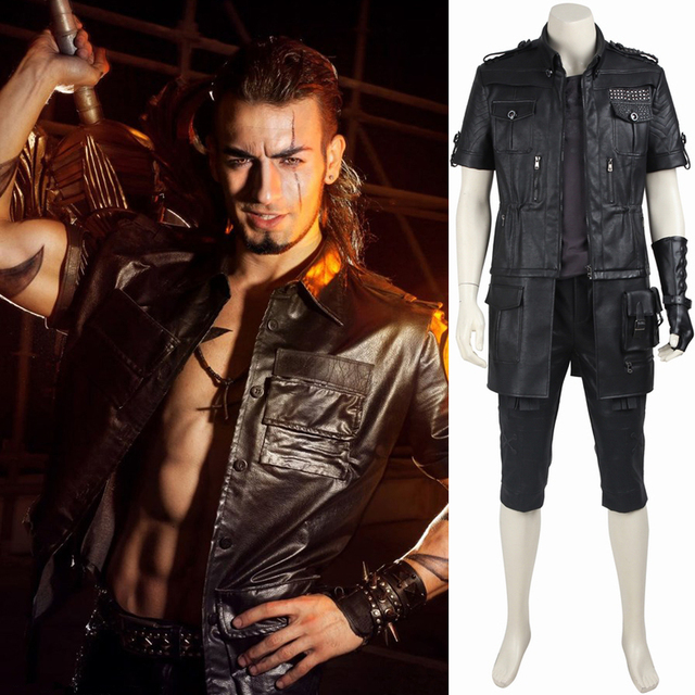 final fantasy xv noctis lucis caelum cosplay costume anime outfit