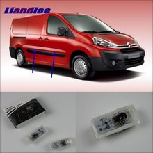Liandlee For Citroen Dispatch 1996~2006 Door Ghost Shadow Lights Car Brand Logo Led Projector Welcome Light Courtesy Doors Lamp liandlee car door ghost shadow lights for acura mdx acura zdx courtesy doors lamp brand logo led projector welcome light