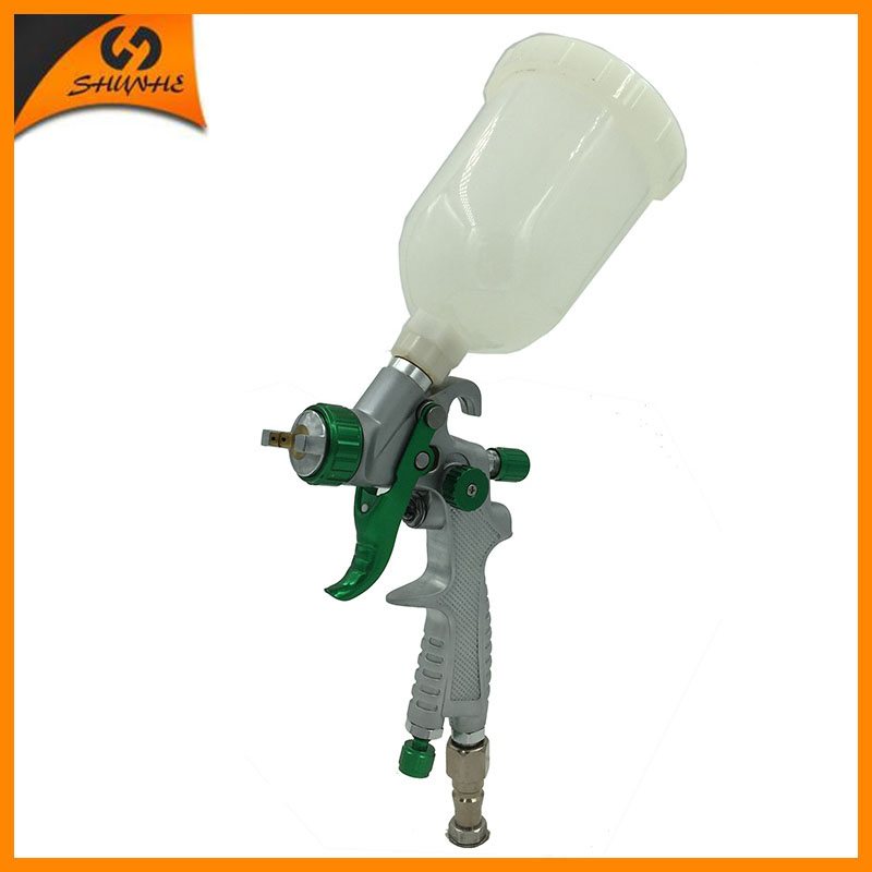 SAT0087 hvlp pistola de pintura mini HVLP spray gun for painting professional airbrush paint spray gun hvlp spray gun gravity окрасочный пистолет satajet 4000 b hvlp 166819