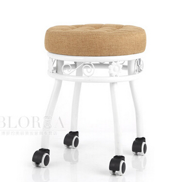 Boutique Beauty Salon Chair. Explosion-proof Hairdressing Chair. Retro Master Stool. Spa Technician Stool Rotating Beauty Stool