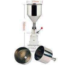 A03 Обновлен Высокая точность бутылочка ручка работать нержавеющая сталь руководство вставить разливочная машина 5-50 мл