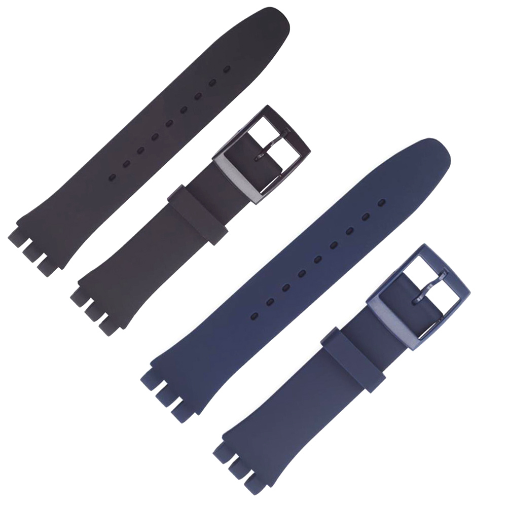 Replacement Watchband Watch Band Strap For Swatch Strap 17mm And 19mm 20mm High Quality