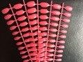 Novo 600 pcs ( 25 folhas ) / saco afiada terminar Stiletto completa capa acrílico falso dicas Nail Art Salon