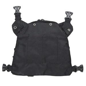 Image 5 - ABBREE Radio Carry Case Chest Harness Pocket Bag Holster for Baofeng UV 5R UV 82 UV 9R TYT TH UV8000D Yaesu Walkie Talkie
