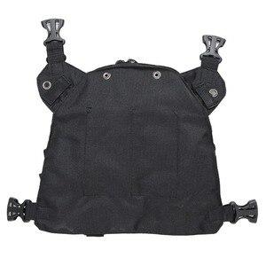 Image 5 - Abbree Radio Draagtas Borst Harnas Pocket Tas Holster Voor Baofeng UV 5R UV 82 UV 9R Tyt TH UV8000D Yaesu Walkie Talkie