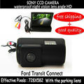 4.3 Inch Car RearView car mirror monitor Parking Monitor with Special Car sony ccd color Reverse Camera for FORD TRANSIT CONNECT