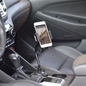 Image 2 - 3.5 6.7 インチ車のカップホルダーマウント携帯電話スタンド iphone サムスン華為 xiaomi zte android 携帯電話ドロップ船