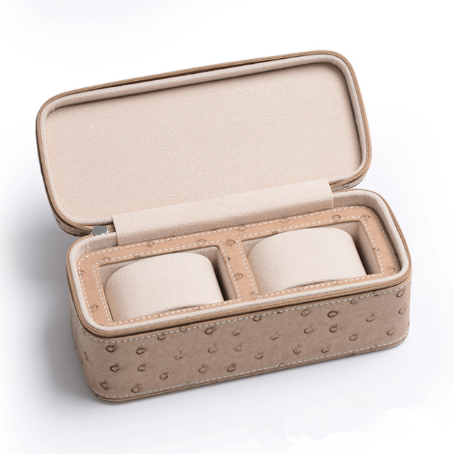 Skin Pattern Watch Cases with Zipper