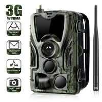 Suntekcam HC-801G 3G cámara de caza 16MP Cámara sendero SMS/MMS/SMTP IP66 foto trampas 0,3 gatillo tiempo 940nm LEDs salvaje cámaras