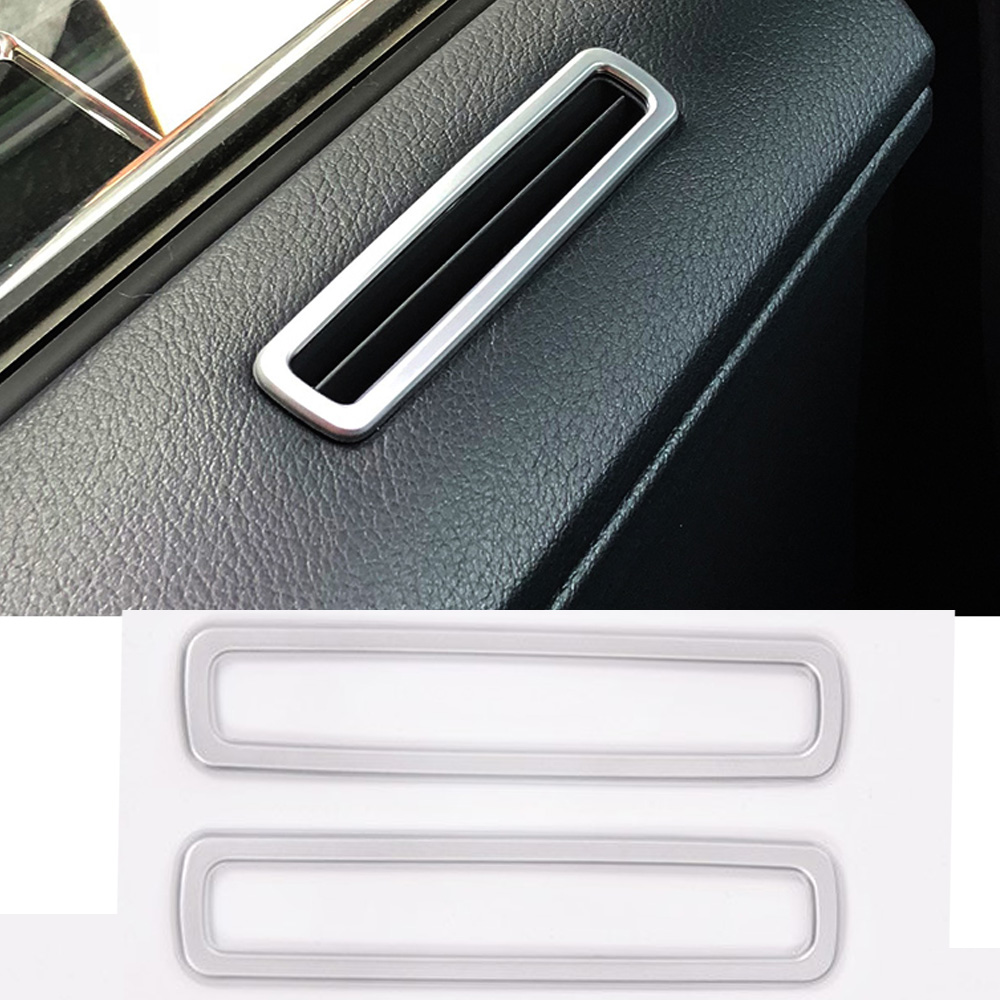 Car Door Air Conditioning Vent outlet decorative Frame Trim Stickers For <font><b>Lexus</b></font> <font><b>RX200t</b></font> 2016 2017 ABS Car Styling <font><b>Accessories</b></font> image